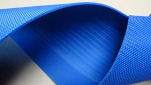 Band mit Nano-Oberfläche und Spurführung