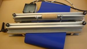 Werkzeug für Schweissverbindung von Bändern